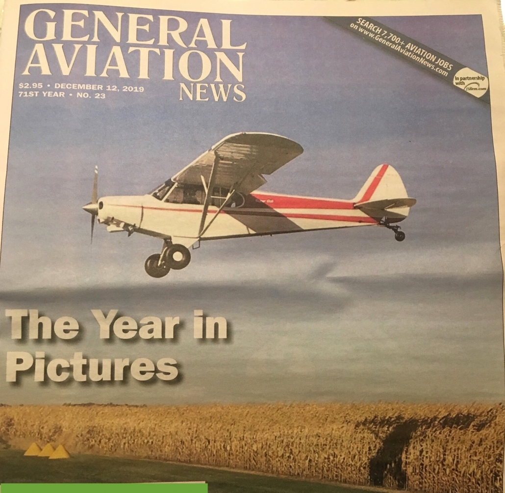 General Aviation December 2019 cover